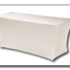 Huren partytafel met witte rok in de Achterhoek en omstreken