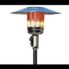 Patio heater makkelijk te bedienen en verlengsnoer mogelijk