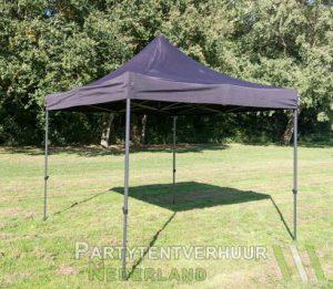 Easy up tent 3x3 meter schuin huren - Partytentverhuur Doetinchem