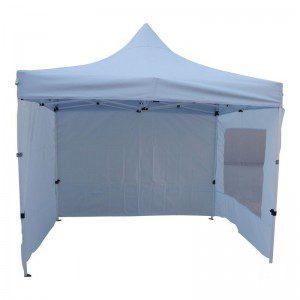 Witte easy up tent 3x3 te huur in de Achterhoek en omstreken