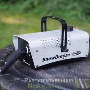 Sneeuwmachine huren - Partytentverhuur Doetinchem