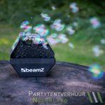 Bellenblaasmachine met bellenblaas huren - Partytentverhuur Doetinchem