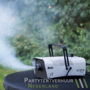 Rookmachine actiefoto huren - Partytentverhuur Doetinchem
